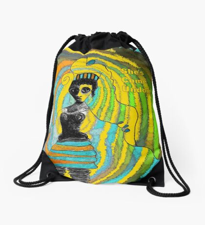 She's Come Undone  Drawstring Bag