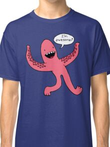 awesome squid arms Classic T-Shirt