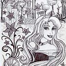 Monochrome Princess A by Kashmere1646