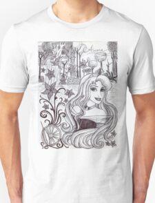 Monochrome Princess A Unisex T-Shirt