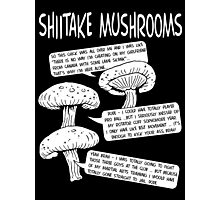 Shiitake Mushrooms Photographic Print