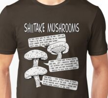 Shiitake Mushrooms Unisex T-Shirt