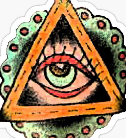 Eye on You Sticker