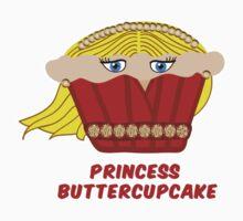 THE PRINCESS BUTTERCUPCAKE parody Kids Tee