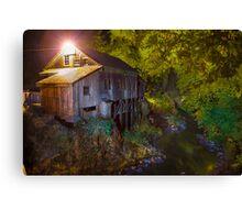 Cedar Creek Grist Mill Canvas Print