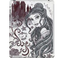 Monochrome Princess B iPad Case/Skin