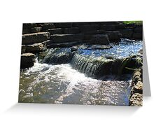 Lisle Waterfall Greeting Card
