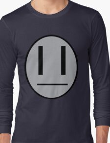 Dib's emotocon shirt Long Sleeve T-Shirt