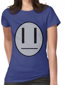Dib's emotocon shirt Womens Fitted T-Shirt