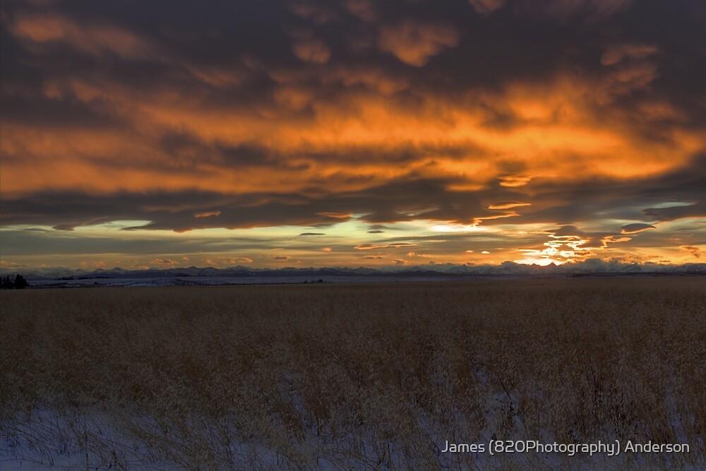 Sunset Chinook by JamesA1
