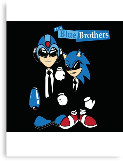 The Blue Brothers by slugamo