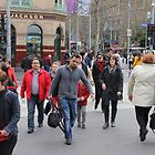 People in Melbourne by Trevor Corran