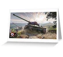 World of tanks - AMX 13 90 Greeting Card