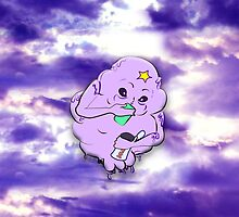 In lumpy space full print by oceanicinks