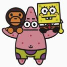 BAPE - SpongeBob Square Pants  by TwoKiT