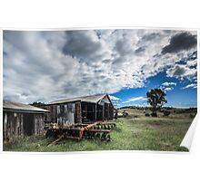 Country Sheds Poster