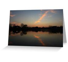 Mirror in the Lake Greeting Card