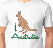 I LOVE AUSTALIA T-shirt Unisex T-Shirt
