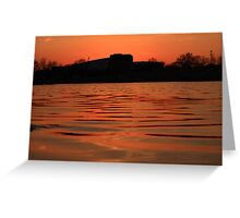 Lake of Fire Greeting Card