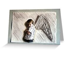 I Don't Want These Wings Greeting Card