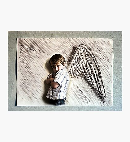 I Don't Want These Wings Photographic Print
