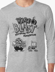 Wario BLAST! Long Sleeve T-Shirt