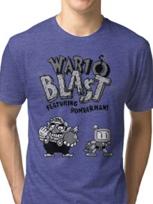 Wario BLAST! Tri-blend T-Shirt