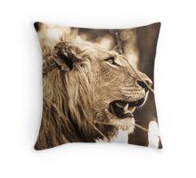 Piajo Lion Throw Pillow