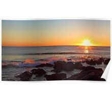 Shelly Beach Sunrise Poster