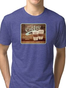 Castle's Coffee T-Shirt Tri-blend T-Shirt