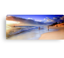 Into the Surf Canvas Print