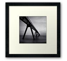 Atlantique #01: Wharf de la Salie Framed Print