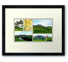 St. Andrews Links Framed Print
