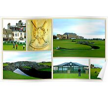St. Andrews Links Poster