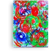 Curly Q Canvas Print