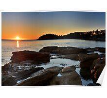 Sunrise over Fairy Bower Poster