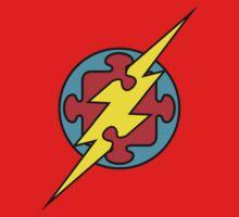 Autism Superhero, The Flash One Piece - Short Sleeve