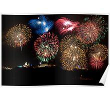 Mellieha Fireworks Malta 2012 Poster