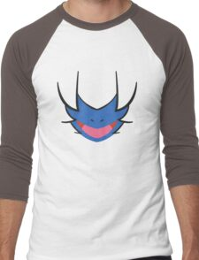 Pokemon - Deino / Monozu Men's Baseball ¾ T-Shirt