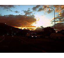 Evening at Calliope Queensland Aust Photographic Print
