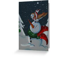 Christmas Eve Companions Greeting Card