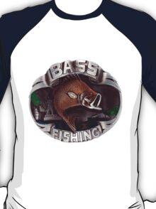 <º))))><   BASS FISHING TEE SHIRT <º))))><    T-Shirt