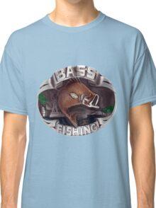 <º))))><   BASS FISHING TEE SHIRT <º))))><    Classic T-Shirt