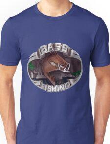 <º))))><   BASS FISHING TEE SHIRT <º))))><    Unisex T-Shirt