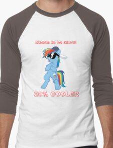 Rainbow Dash - 20% COOLER Men's Baseball ¾ T-Shirt