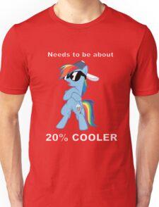Rainbow Dash - 20% COOLER Unisex T-Shirt