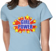 GIRL POWER! Womens Fitted T-Shirt