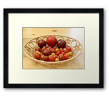 Nature's Gifts IV Framed Print