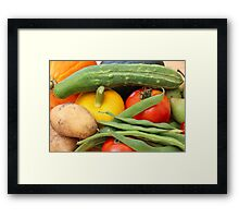 Nature's Gifts III Framed Print