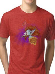 Vol'Jin Splash Art Tri-blend T-Shirt